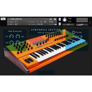 waldorf シンセサイザー xtk サンプリング KONTAKT音源(ソフトウェア音源)