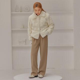 スタイルナンダ(STYLENANDA)の●大幅値下げしました●未使用新品アウタージャケットコート(毛皮/ファーコート)