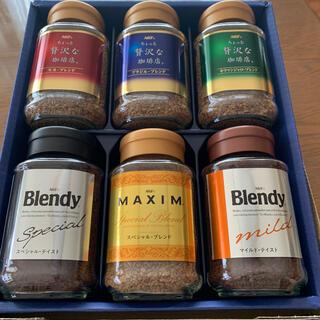 エイージーエフ(AGF)のマリリン様ありがとうございます!インスタントコーヒー AGF 6本セット(コーヒー)