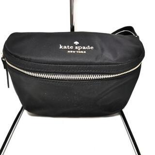 ケイトスペードニューヨーク(kate spade new york)のケイトスペード ウエストポーチ美品  - 黒(ボディバッグ/ウエストポーチ)