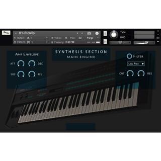 YAMAHA DX7 シンセサイザー サンプリング KONTAKT音源 #KO(ソフトウェア音源)