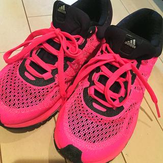 アディダス(adidas)の【美品】adidasランニングシューズ(その他)