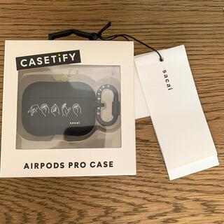 サカイ(sacai)の【AirPods Proケース】sacai ×casetify(モバイルケース/カバー)