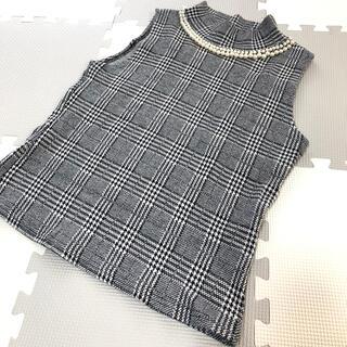 サリア(salire)のsalire トップス スカート セット(ひざ丈スカート)