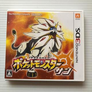 ニンテンドー3DS(ニンテンドー3DS)のポケットモンスター サン 3DS(携帯用ゲームソフト)