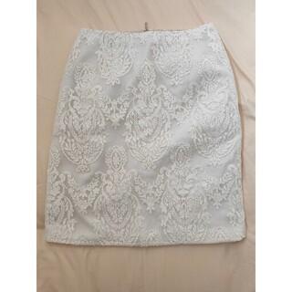 ラボラトリーワーク(LABORATORY WORK)の【中古美品】Laboratory Work 花柄 レース スカート(ひざ丈スカート)
