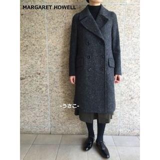 マーガレットハウエル(MARGARET HOWELL)のマーガレットハウエル SLUB TWEED COAT コート MHL(ロングコート)