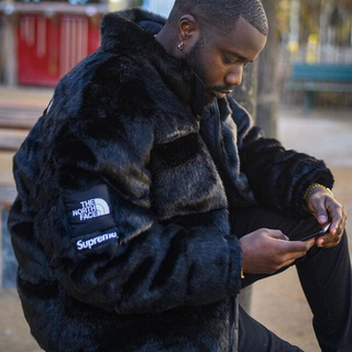 シュプリーム(Supreme)のSupreme The North Face Faux Fur Nuptse(ダウンジャケット)