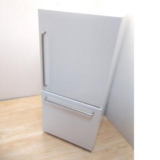 ムジルシリョウヒン(MUJI (無印良品))の無印良品 冷蔵庫 アメリカンスタイル レトロ バータイプ(冷蔵庫)