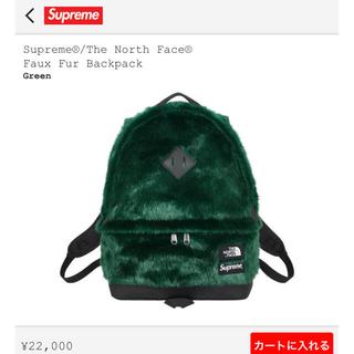 シュプリーム(Supreme)のSupreme×TheNorthFace Faux Fur Back Pack(バッグパック/リュック)