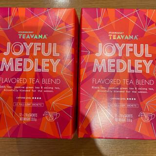 スターバックスコーヒー(Starbucks Coffee)のスタバ ジョイフルメドレー 12袋×2(茶)