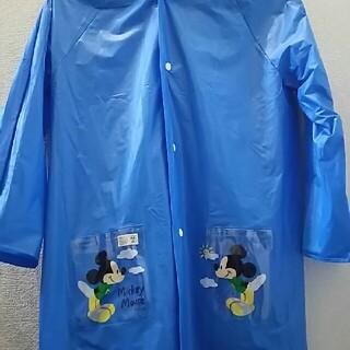 ディズニー(Disney)のミッキー レインコート 130センチ(レインコート)