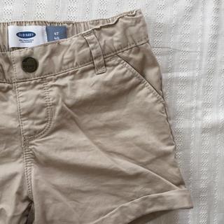 オールドネイビー(Old Navy)のベージュのショートパンツ size4T(パンツ/スパッツ)
