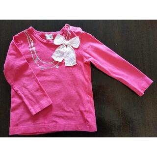 ハッカベビー(hakka baby)の hakka baby 90センチ長袖カットソー(Tシャツ/カットソー)