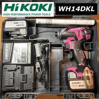 ヒタチ(日立)の【新品未使用】HiKOKI WH14DKL 14.4V インパクトドライバー(その他)