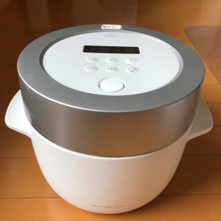 バルミューダ(BALMUDA)の【最終値下げ】良品 バルミューダ 炊飯器 K03A-WH(炊飯器)
