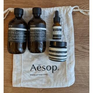 イソップ(Aesop)の【Aesop】イソップ 空き容器4点+巾着袋(ショップ袋)