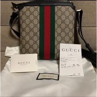 グッチ(Gucci)のGUCCI グッチ GGスプリーム メッセンジャーバッグ(メッセンジャーバッグ)