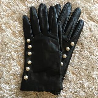 フォクシー(FOXEY)のりんごぷう様 専用本革手袋 レザー手袋(手袋)