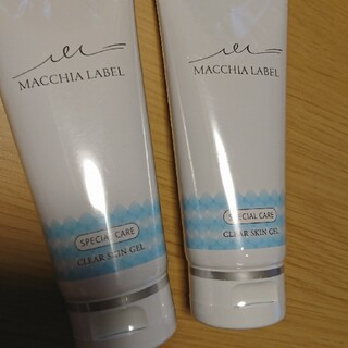 マキアレイベル(Macchia Label)のあやさん様専用!マキアレイベル!2本セット!クリアスキンジェルa(洗顔料)