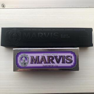 マービス(MARVIS)の新品未開封 marvis マービス 歯磨き粉 ジャスミンミント &  歯ブラシ(歯磨き粉)