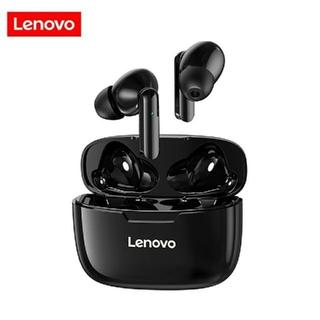 レノボ(Lenovo)のLenovo XT90 ワイヤレスイヤホン−ブラック(ヘッドフォン/イヤフォン)