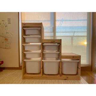 イケア(IKEA)の160と120サイズ2つの梱包で発送 IKEA TROFAST トロファスト(収納/チェスト)