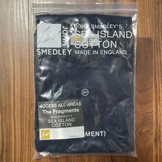 ジョンスメドレー(JOHN SMEDLEY)のM ネイビー fragment design × john smedley (ニット/セーター)