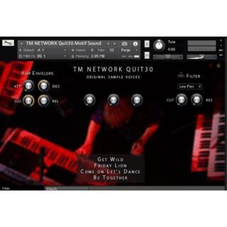 TM NETWORKの名曲のあの音を貴方のキーボードで再現for KONTAKT(ソフトウェア音源)