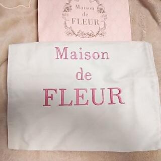 メゾンドフルール(Maison de FLEUR)のMaison de FLEUR メゾン ド フルール【新品】ロゴトート👜🌸(トートバッグ)
