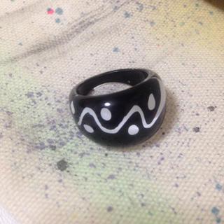 白黒 ボヘミアン リング(リング(指輪))