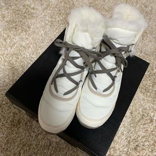 ソレル(SOREL)の専用usa様 ソレル SOREL スノーブーツ ホワイト 白 24(ブーツ)