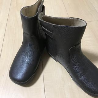 サマンサモスモス(SM2)の最終!♪サマンサモスモス♪レザーショートブーツ(牛革)♪未使用(ブーツ)