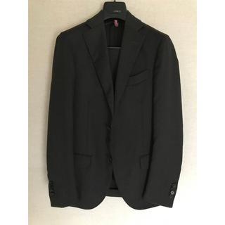 バーニーズニューヨーク(BARNEYS NEW YORK)のラルディーニ スーツ チャコールグレー made in italy(セットアップ)