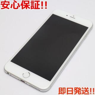 アイフォーン(iPhone)の美品 SIMフリー iPhone6S PLUS 128GB シルバー (スマートフォン本体)
