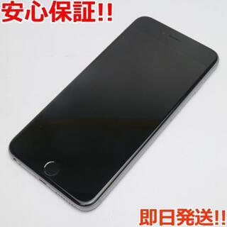 アイフォーン(iPhone)の美品 SIMフリー iPhone6S PLUS 16GB スペースグレイ (スマートフォン本体)