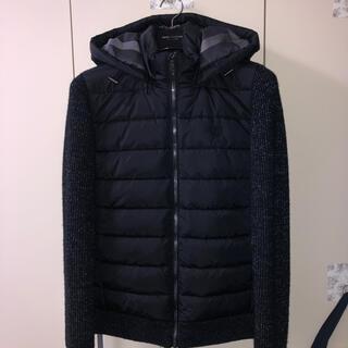 ブラックレーベルクレストブリッジ(BLACK LABEL CRESTBRIDGE)の2020秋冬新作ブラックレーベルクレストブリッジ ニットコンビダウン(ダウンジャケット)