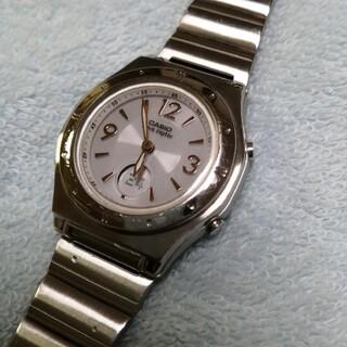 カシオ(CASIO)のCASIO 電波ソーラー レディース腕時計(腕時計)