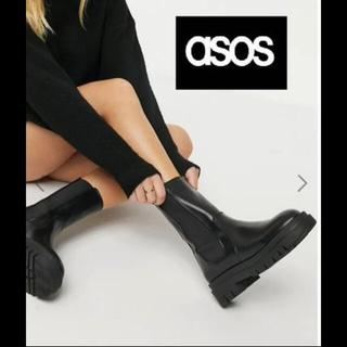 エイソス(asos)のASOS チャンキーブーツ(ブーツ)