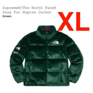 シュプリーム(Supreme)のsupreme Faux Fur Nuptse Jacket(ダウンジャケット)