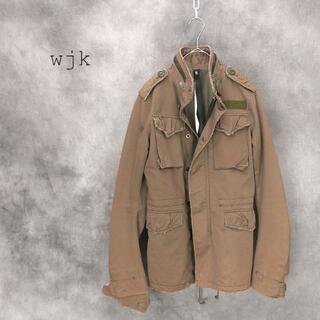 ダブルジェーケー(wjk)のwjk ダブルジェイケイ M-65 ミリタリージャケット(ミリタリージャケット)