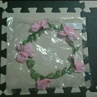 グレイル(GRL)の新品★花冠★ピンク(カチューシャ)
