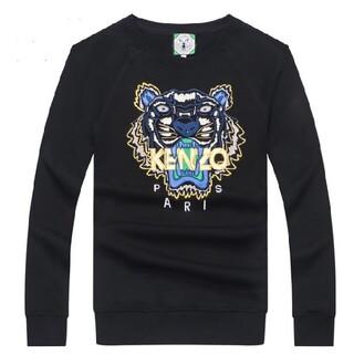 ケンゾー(KENZO)の人気新品  kenzoメンズ  無地 コットン長袖カバー  (Tシャツ/カットソー(七分/長袖))