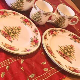 ロイヤルアルバート(ROYAL ALBERT)のロイヤルアルバート 日本未発売 クリスマスホリデー(食器)