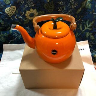 EJIRY エジリー 新品 かわいい♡フルーツケトル オレンジ 1.4L 日本製(その他)