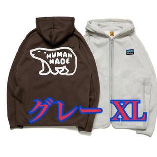 XL Human Made フリースコレクション ヒューマンメイド(パーカー)