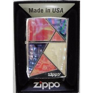 ジッポー(ZIPPO)の新品 ZIPPO マルチカットシェル シルバー 2S 定価13200円(タバコグッズ)
