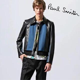 ポールスミス(Paul Smith)のポールスミス  ラムレザー ショートブルゾン M(レザージャケット)