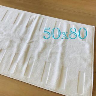 イケア(IKEA)のIKEA BLANKSJÖN 大判 バスマット 50×80【未使用品】(バスマット)