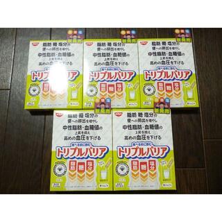ニッシンショクヒン(日清食品)のトリプルバリア 青りんご味 5本入 5箱(その他)